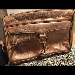 Rose Gold Rebecca Minkoff Mini M.A.C.